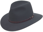 The Charcoal Banjo Paterson Hat