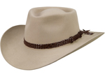 The Overlander Hat - Sand by Akubra