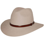 The Lightning Ridge Hat - Sand by Akubra