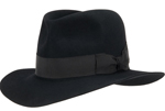 Akubra Black Adventurer Hat