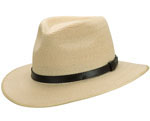 Hemp Balmoral Hat - Natural by Akubra