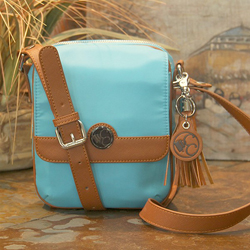 Turquoise Cross Body Compact