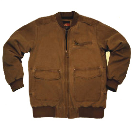 Concealed Carry Aviator Bomber Jacket by Kakadu