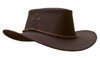 The Brown Echuca Oilskin Hat