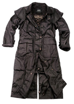 Black Workhorse Drovers Coat