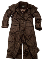 Brown Workhorse Drovers Coat