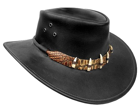 The Black Croc Hat
