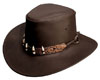 The Brown Croc Hat
