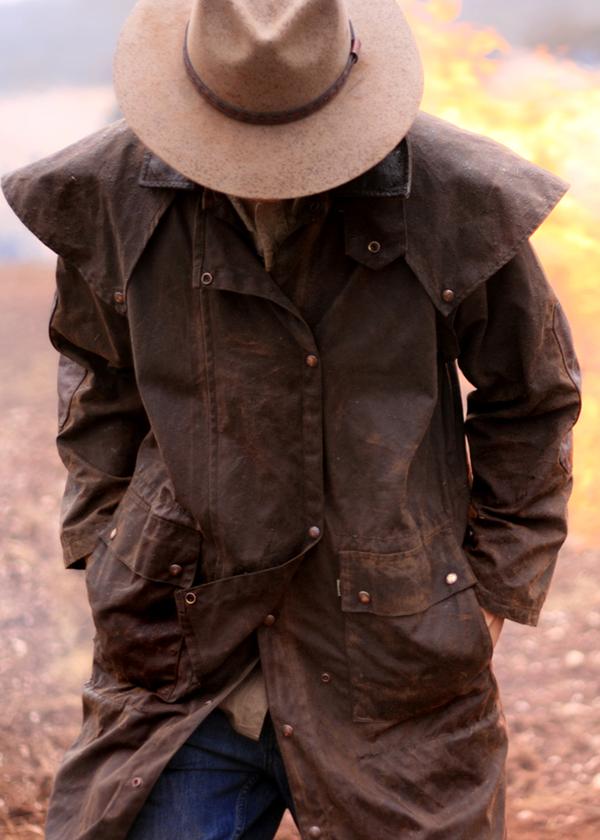 Kakadu 3o02 The Long Rider 3 In 1 Oilskin Coat