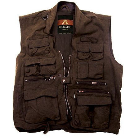 The Brown Kelly Vest