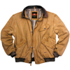 Mustard Double Bay Bomber Jacket