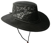 Soaka Black Florentine Hat
