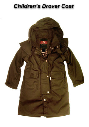 Children's Drover Coat by Kakadu