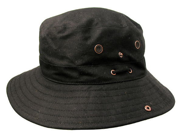 Black Dalston Hat