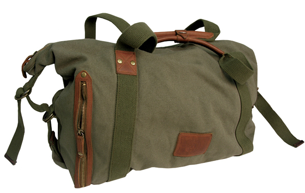 The Rhino Convertible Bag - Sage