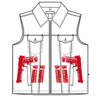 The Concealed Carry Kelly Vest