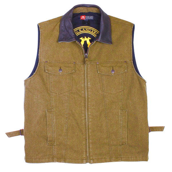The Tobacco Kelly Vest